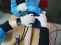 국비반 11기 혈압측정 실습시간